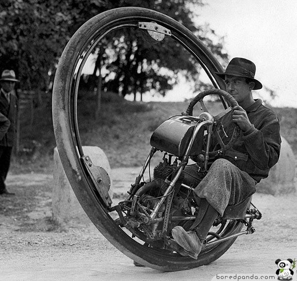 En-hjuls-motorsykkel