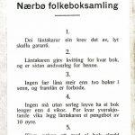 Låneregler anno 1935
